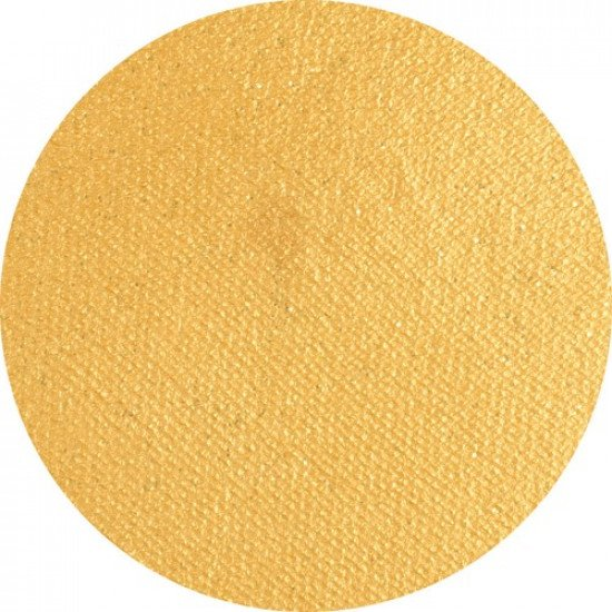 Arany arcfesték - Gyöngyház csillámporos arany 16g - Superstar Gold with glitter (shimmer) Tégelyes arcfesték