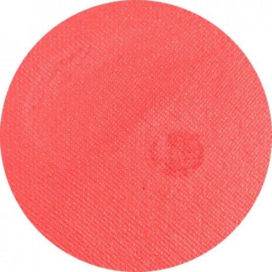 Piros arcfesték - Gyöngyház interferenz piros 16g - Superstar Interferenz red (shimmer) Tégelyes arcfesték